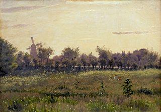 The Meadow near the Artist's House at Farimagsvej outside Copenhagen