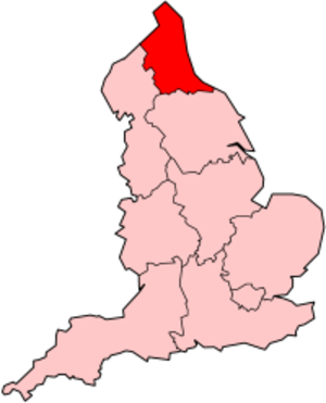 North East England (European Parliament constituency) - Image: England North East