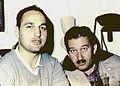 Enrique Gutiérrez, Productor Ejecutivo y Alejandro Kerk, Director de Chambú.JPG