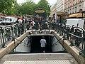 Entrée Station Métro Alexandre Dumas Paris 4.jpg