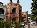 Entrance to Ghaziuddin's Mosque & Madrassa (22227683643).jpg