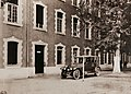 Entrance to the File-Chief Quartermaster's office, Caserne Baraguey D'Hilliers, Tours, France, 1918 (28170026743).jpg