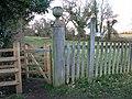Entrance to the Weavers Way, Aylsham - geograph.org.uk - 2270263.jpg