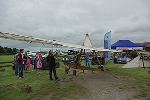 Elliotts Primary EoN - Shuttleworth's Primary, originally an EoN Primary but restored as an S.G.38