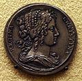 Erich parise, medaglia su virtù e interessi della regina cristina di svezia, 1650-54, 02.JPG