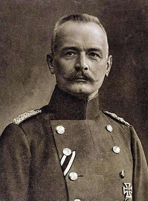 Erich von Falkenhayn - Image: Erich von Falkenhayn retouched