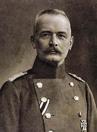 Oberste Heeresleitung - Image: Erich von Falkenhayn retouched