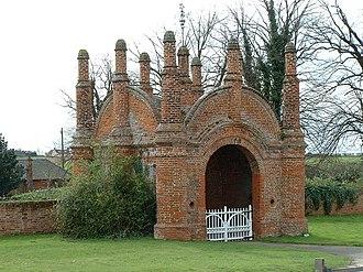 Erwarton - Erwarton Hall Gatehouse