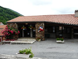 The town hall of Esbareich