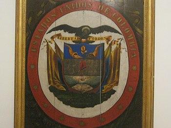 Escudo Estados Unidos de Colombia 2