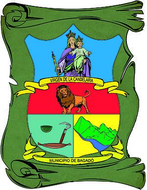 Bagadó - Image: Escudo del Municipio de Bagadó Chocó Autor Nilxon Gustavo Rodríguez Maturana Lic Q y B