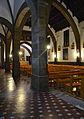 Església del Sagrat Cor del palau ducal de Gandia, pilars.JPG