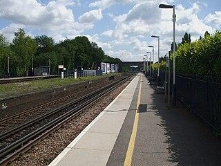 Esher railway station