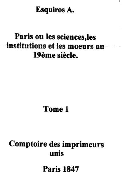 File:Esquiros - Paris ou les sciences, tome 1.djvu