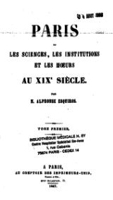 Esquiros - Paris ou les sciences, tome 1.djvu