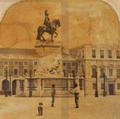 Estátua de Dom José I – Terreiro do Paço, Lisboa (19th century).png