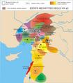 Estats neohitites i arameus a Síria al segle VIII aC.png