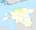 Estonia Harju location map.png