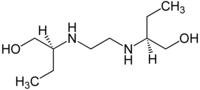 Struktur von Ethambutol