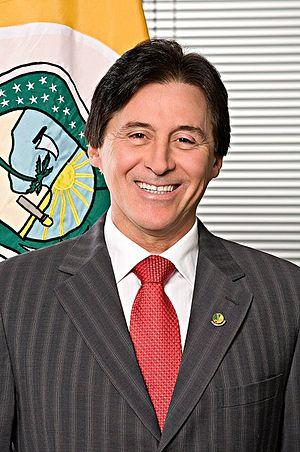 President of the Federal Senate (Brazil) - Image: Eunício Oliveira