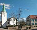 Ev. Kirche Saarn und Haus Werry.jpg