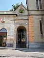 Evangelical church. Listed ID -1482. Gate. - Cegléd.JPG