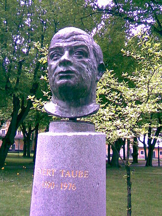 Evert Taube - Taube's memorial in Stockholm