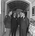 Ex President Generaal Aramburoe op paleis Soestdijk door prins Bernhard ontvange, Bestanddeelnr 914-5447.jpg