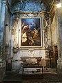 Ex chiesa del Carmine Medicina, Altare con tela di Ercole Graziani.jpg