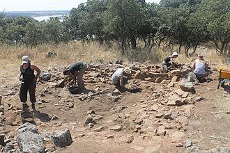 El Castillon - Excavación en el Castillón (2013)