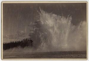 Excelsior Geyser - Image: Excelsior Geyser, 1885