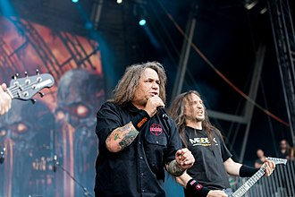 Exodus (American band) - Exodus performing at the Summer Breeze Open Air festival in 2016