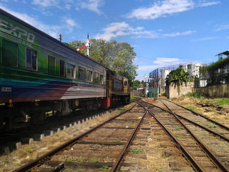 Rail transport in Sri Lanka - Expo Rail luxury carriage attached to a train