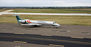 ExpressJet ERJ at Stillwater Regional Airport