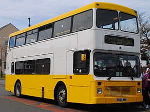 Express Motors - Northern Counties Palatine bodied Volvo Olympian in Llandudno in May 2013