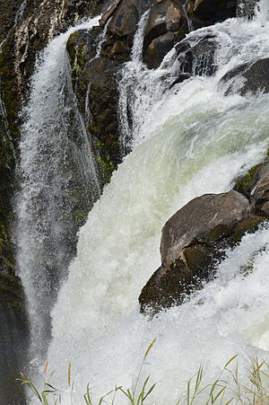 Los Tuxtlas - At the top of the Eiyapantla Waterfall