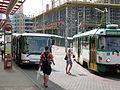 Fügnerova, bus a tram.jpg