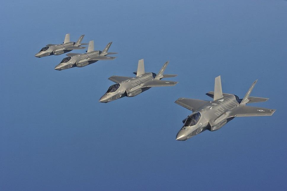F-35A flight