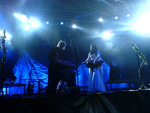 Faun (band) - Pade and Pawelke live at the 2007 Wave-Gotik-Treffen