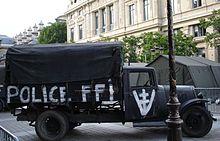 Voiture des FFI
