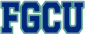 Florida Gulf Coast Eagles men's basketball - Image: FGCU wordmark