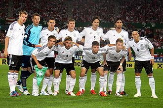Football in Germany - Germany men's national football team in 2012