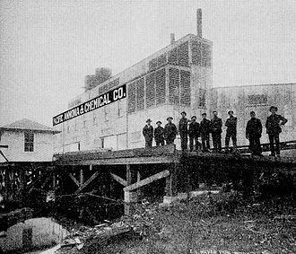 Westlake, Seattle - Industrialized Westlake a century earlier (1909)