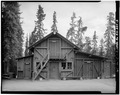 FRONT, LOOKING SOUTH - Mount McKinley Headquarters, Dog Feed Cache and Sled Storage, Cantwell, Denali Borough, AK HABS AK,23-MCKIN,1-I-2.tif