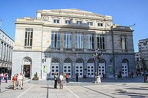 Fachada principal del Teatro Campoamor