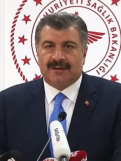 Fahrettin Koca Turkish physician and politician