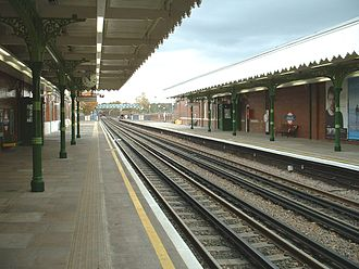 Fairlop tube station - Image: Fairlop north
