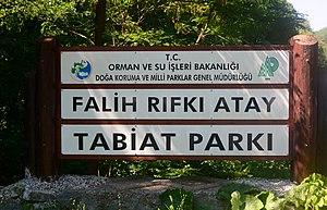 Falih Rıfkı Atay Nature Park - Image: Falih RıfkıAtay Nature Park