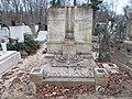 Farkasréti zsidó temető. Brück Israel 1909. - Budapest.JPG