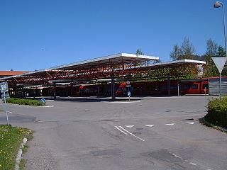 railway station in Furesø Municipality, Denmark